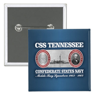 CSS Tennessee (CSN) 2 Inch Square Button