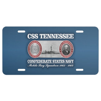 CSS Tennessee (CSN) License Plate