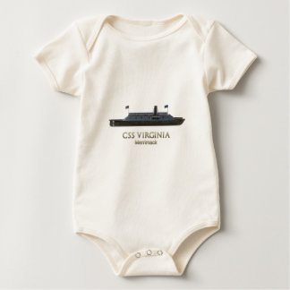 CSS Virginia (Merrimac) Baby Bodysuit
