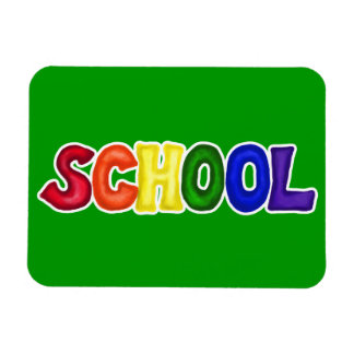 CSSW COLORFUL SCHOOL SCRAP-BOOKING GRAPHIC ART EDU MAGNET