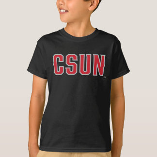CSUN Logo on Black T-Shirt