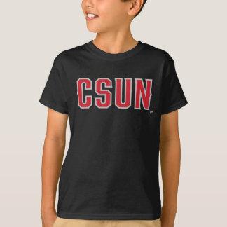 CSUN Logo on Black T-Shirt