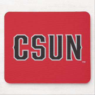 CSUN Logo on Red Mouse Pad
