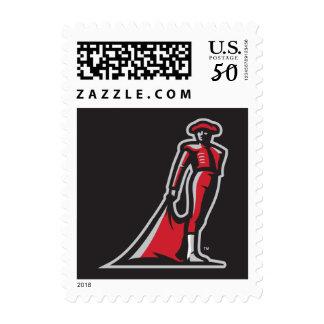 CSUN Matador - Black Postage