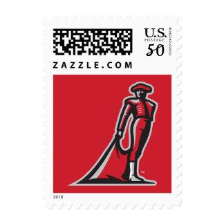 CSUN Matador - Red Postage