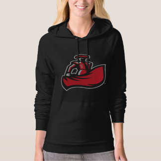 CSUN Matador with Cape - Black Hoodie