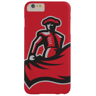 CSUN Matador with Cape - Red Barely There iPhone 6 Plus Case