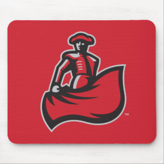CSUN Matador with Cape - Red Mouse Pad