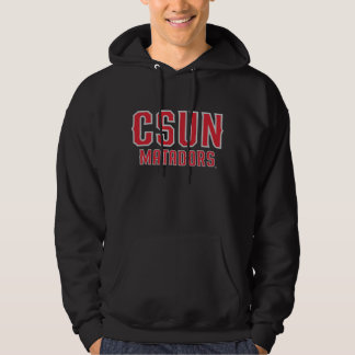 CSUN Matadors - Red with Gray Outline Hoodie