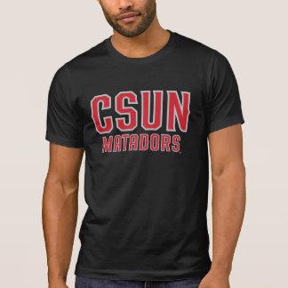 CSUN Matadors - Red with Gray Outline Tee Shirt