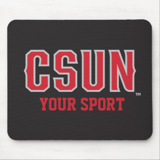 CSUN Red - Customize Your Sport Mouse Pad
