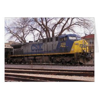 CSX Dash9 Card