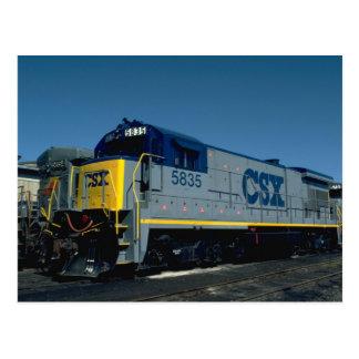 CSX GE B36-7 POSTAL