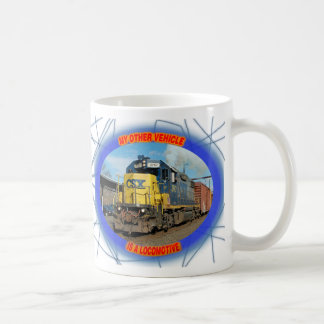CSX Locomotive Coffee Mug
