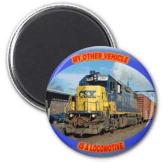 CSX Locomotive Magnet