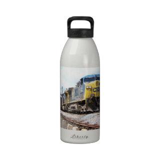 CSX Railroad AC4400CW #6 con un tren del carbón Botella De Agua Reutilizable