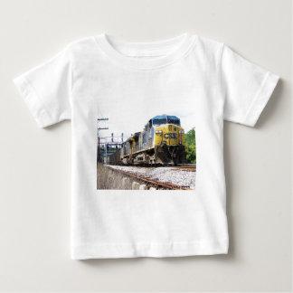 CSX Railroad AC4400CW #6 With a Coal Train Baby T-Shirt