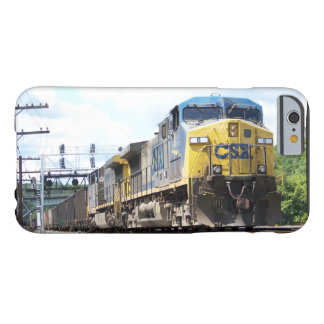 CSX Railroad AC4400CW #6 With a Coal Train Barely There iPhone 6 Case