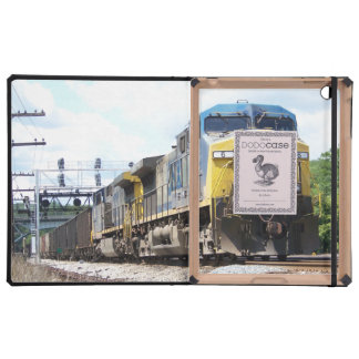 CSX Railroad AC4400CW #6 With a Coal Train iPad Folio Case