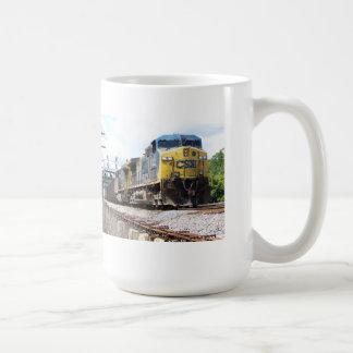 CSX Railroad AC4400CW #6 With a Coal Train Coffee Mug