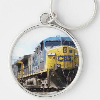 CSX Railroad AC4400CW #6 With a Coal Train Keychain