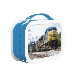 Csx Railroad Ac4400cw #6 With A Coal Train Lunch Box at Zazzle