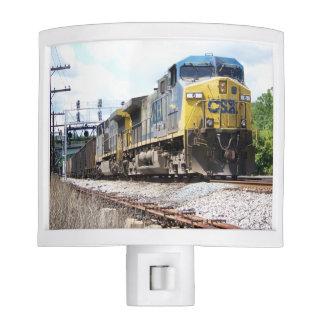 CSX Railroad AC4400CW #6 With a Coal Train Night Light