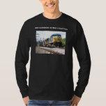 Csx Railroad Ac4400cw #6 With A Coal Train T-shirt at Zazzle