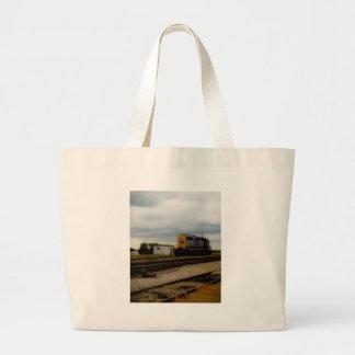 CSX Railroad Dieesel Yard Engine Toledo, OH Large Tote Bag