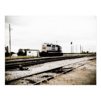 CSX Railroad el motor Toledo, OH de la yarda de Di Tarjetas Postales