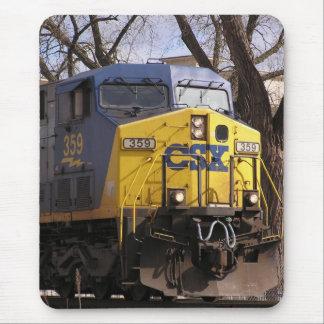 CSX Train Mouse Pad