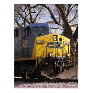 CSX Train Post Cards