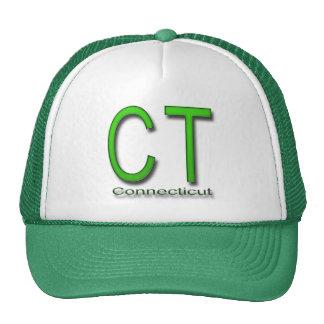 CT Conecticut green Trucker Hat