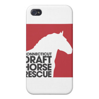 CT Draft Horse Rescue hard shell iPhone 4/4S Cover For iPhone 4