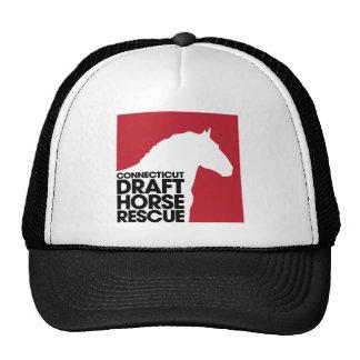 CT Draft Horse Rescue trucker cap Trucker Hat