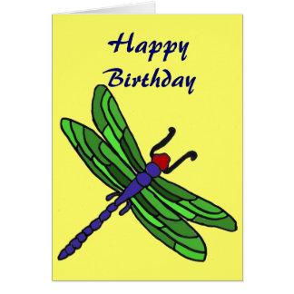 CT- Dragonfly Birthday Card
