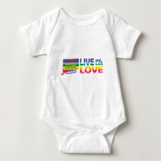 CT Live Let Love Baby Bodysuit