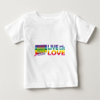 CT Live Let Love Baby T-Shirt