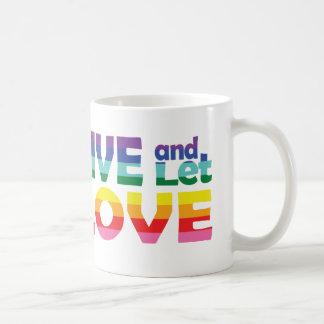 CT Live Let Love Coffee Mug