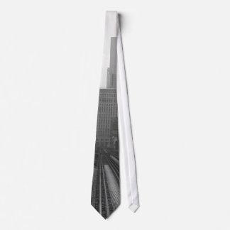 CTA  (Brown Line) Neck Tie