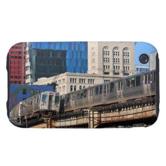 CTA rapid transit Orange Line and Green Line Tough iPhone 3 Cases