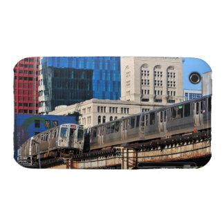 CTA rapid transit Orange Line and Green Line iPhone 3 Cover