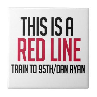 CTA Red Line Tile