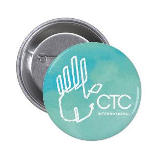 CTC International -  Blue 2 Inch Round Button