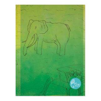 CTC International - Elephant Postcard