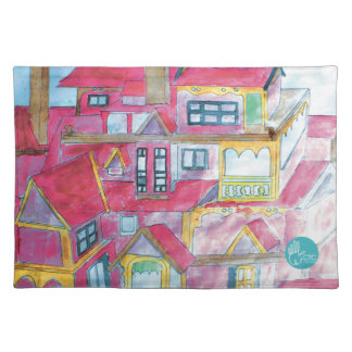 CTC International - Houses Cloth Placemat