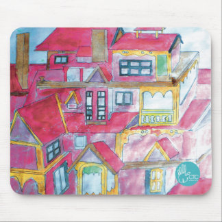 CTC International - Houses Mouse Pad