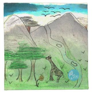 CTC International - Landscape Cloth Napkin