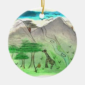 CTC International - Landscape Christmas Tree Ornament