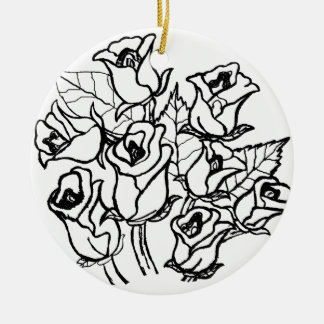CTC International -  Roses 2 Christmas Ornaments